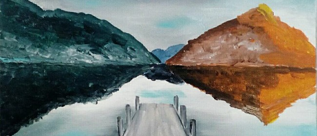 Paint and Wine Night - Sunset at the Wharf - Paintvine: CANCELLED