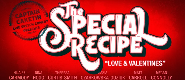 Captain Caketin's Special Recipe - Love & Valentines