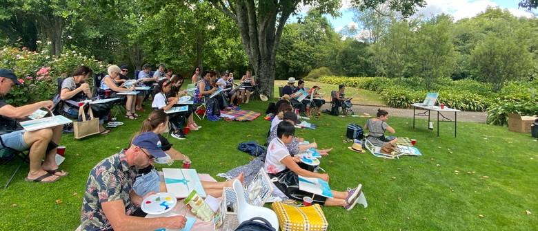 Paintvine In the Park - Kowhai Tui - Paintvine: CANCELLED