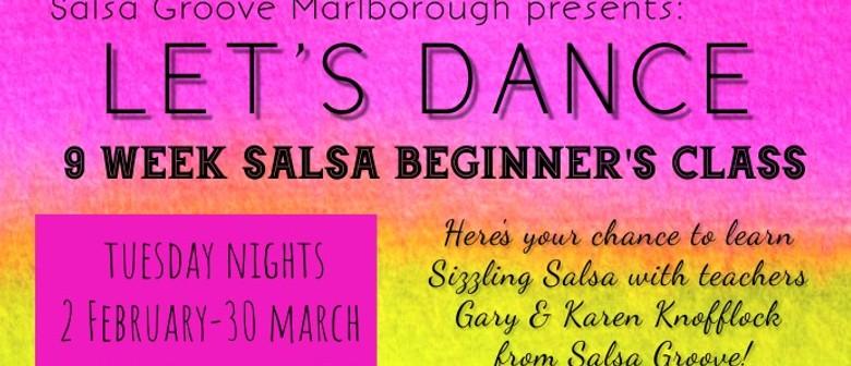 9- Week Salsa Beginners Class