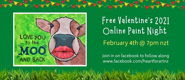 Free Valentine's 2021 Paint Night