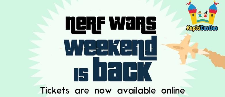 Nerf Wars Weekend 2021
