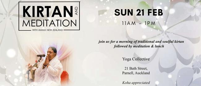 Kirtan and Meditation: POSTPONED