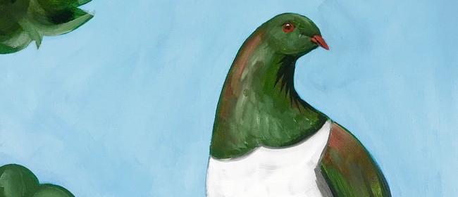 Paint & Wine Night - Kererū - Paintvine