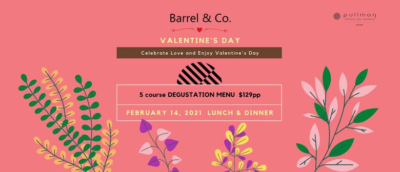 Celebrating Valentine's Day at BARREL & CO.