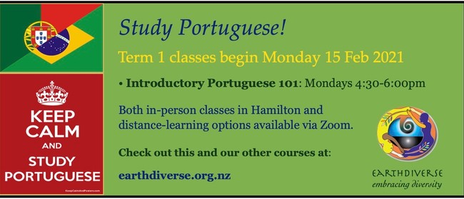 Study Portuguese with EarthDiverse in 2021