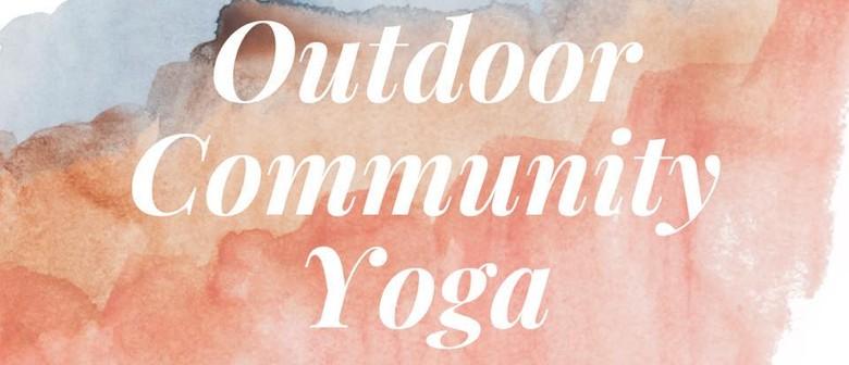 Outdoor Community Yoga
