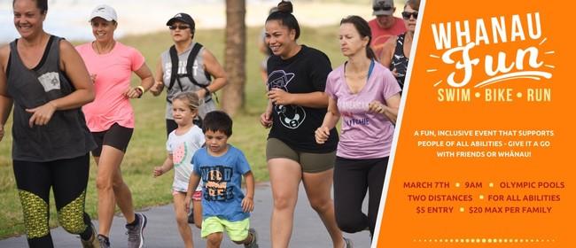 Whānau Fun 2021 - An All Abilities Swim, Bike, Run