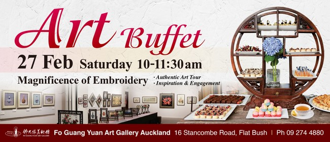 Art Morning Tea Buffet  - Magnificence of Embroidery
