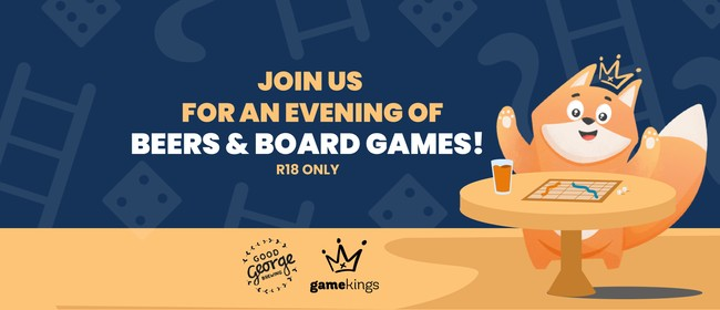 Board Games Night at Good George, hosted by Game Kings!