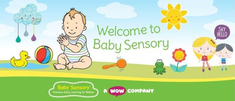 Baby Sensory Term 1 2021: Wednesday (Birth to 6 months)