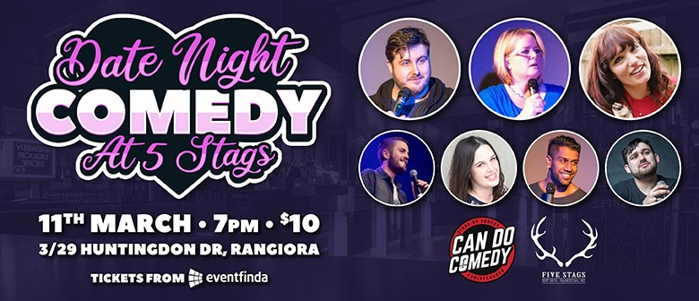 Date Night Comedy at 5 Stags
