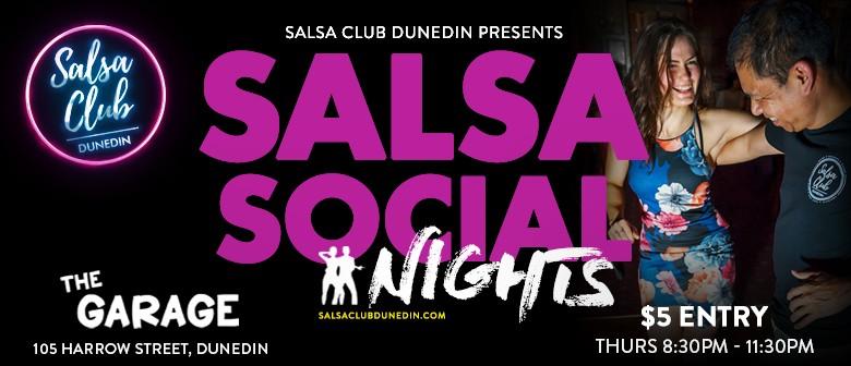 Salsa Club Dunedin Social Nights