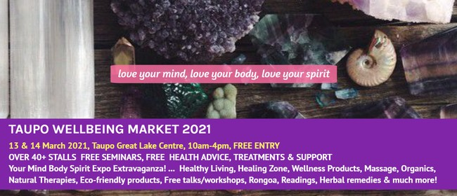 Taupo Wellbeing Market 2021