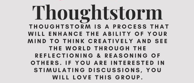 Thoughtstorm: CANCELLED