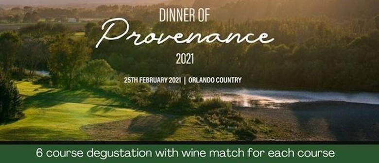 Dinner of Provenance 2021