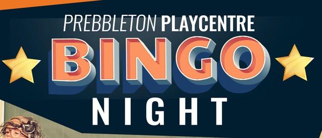Prebbleton Playcentre Bingo 2021