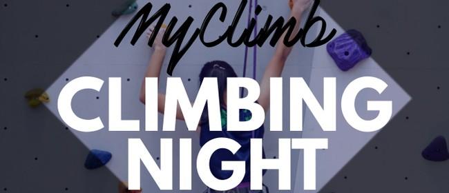 MyClimb Climbing Night: CANCELLED