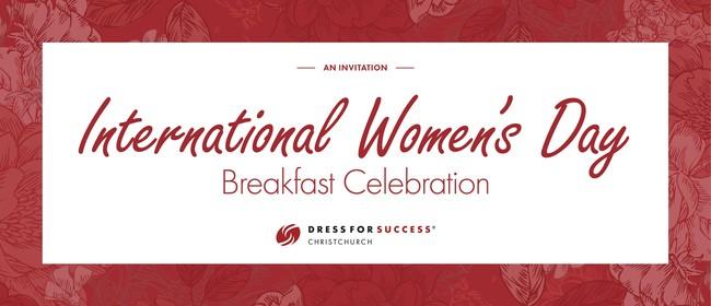 International Women's Day Breakfast: CANCELLED