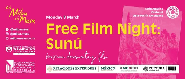 Free FilmNight– Sunú