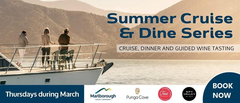 Summer Cruise & Dine Series - Punga Cove Resort & Spy Valley