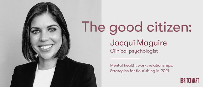 Clinical psychologist Jacqui Maguire's advice for 2021: CANCELLED