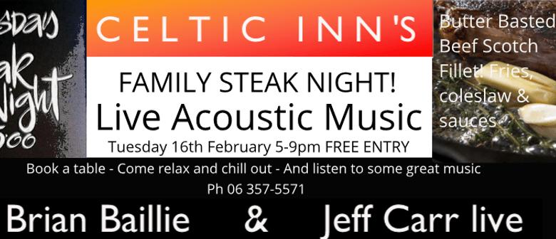 Family Steak Night ft Brian Baillie & Jeff Carr