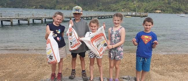 Massive Marlborough Clean Up - Anakiwa & Davies Bay