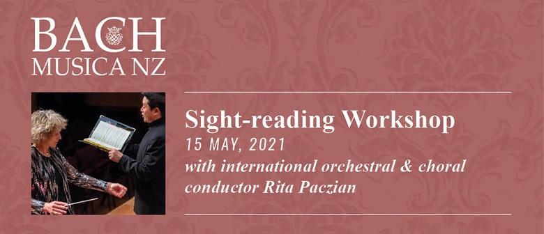 Bach Musica NZ Sight-Singing Workshop
