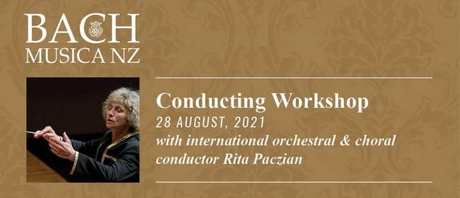 Bach Musica NZ Conducting Workshop