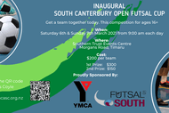 Inaugral South Canterbury Open Futsal Cup