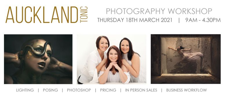Auckland Tonic - Full Day Photography Workshop