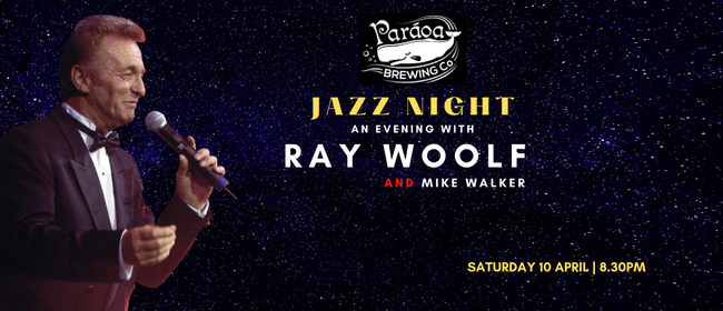 An Evening With Ray Woolf: CANCELLED