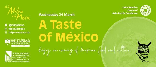 A Taste of México