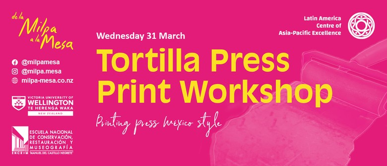 Tortilla Press Print Workshop