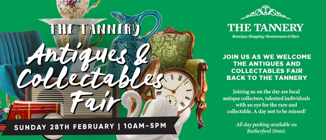 The Tannery Antiques and Collectables Fair