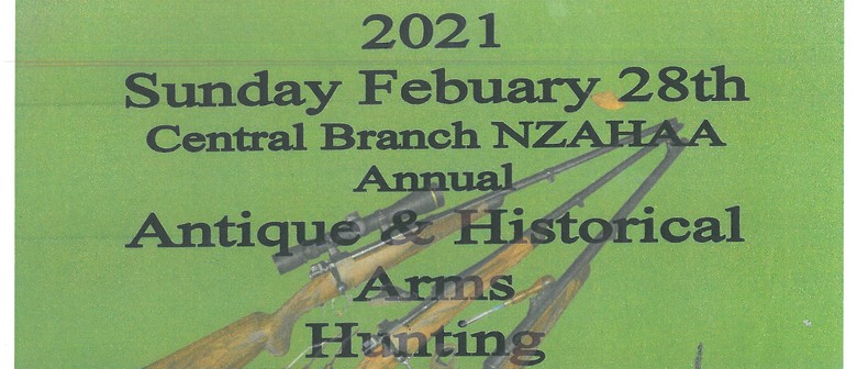 Antique & Historical Arms hunting & Militaria Show