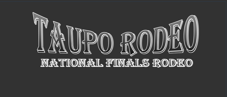 Taupo Rodeo National Finals Rodeo Ceremony