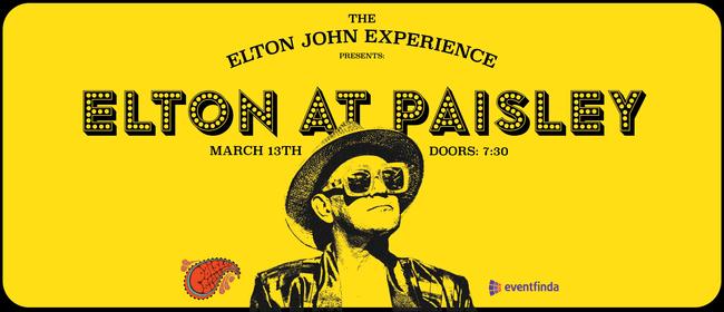 Elton at Paisley