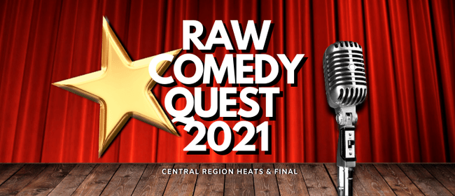Raw Comedy Quest - Taranaki