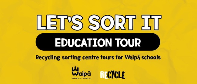Group 5. Recycling sorting centre education tour (Y3-6)