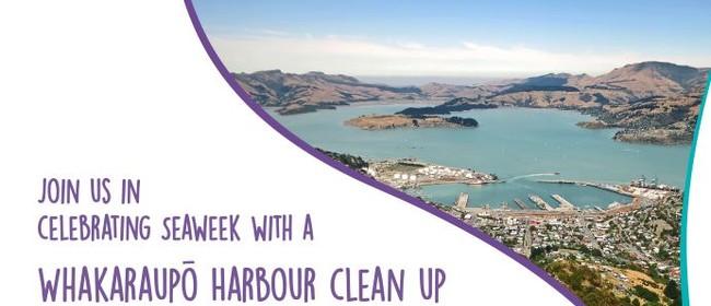 Seaweek Whakaraupō Harbour Clean Up