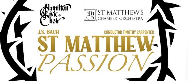 J.S. Bach St Matthew Passion