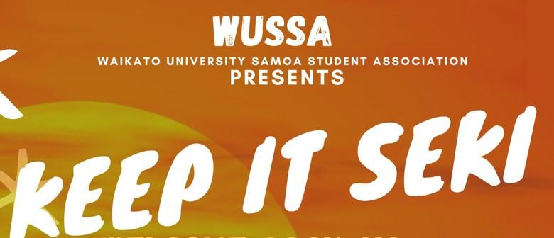 Waikato University Samoan Students Association - Keep it Sek