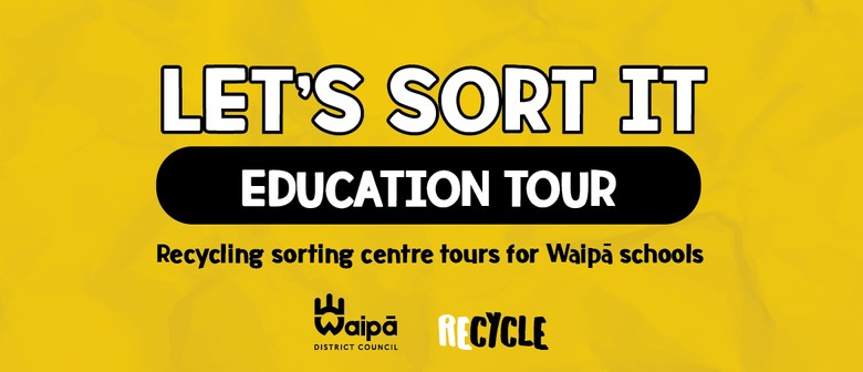 Group 3. Recycling sorting centre education tour (Y7-13)