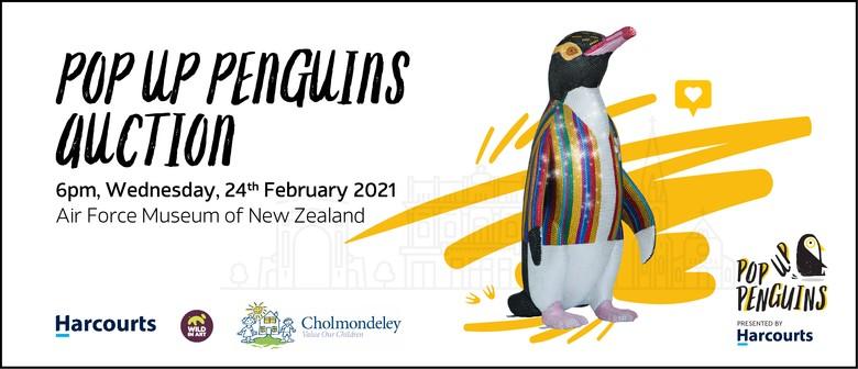 Pop Up Penguins Auction