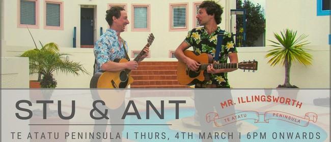 Stu J & Ant Tarrant