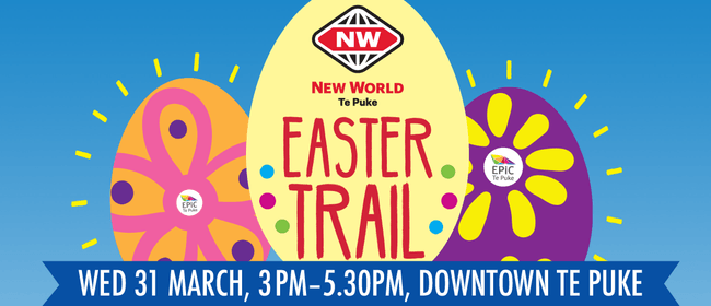 New World Te Puke Easter Egg Trail