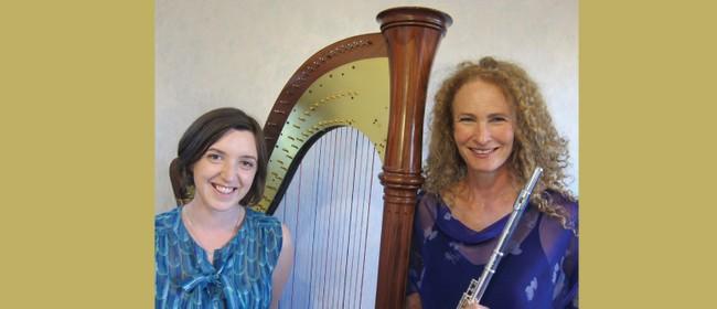 Flute and Harp Duo, Bridget Douglas and Michelle Velvin