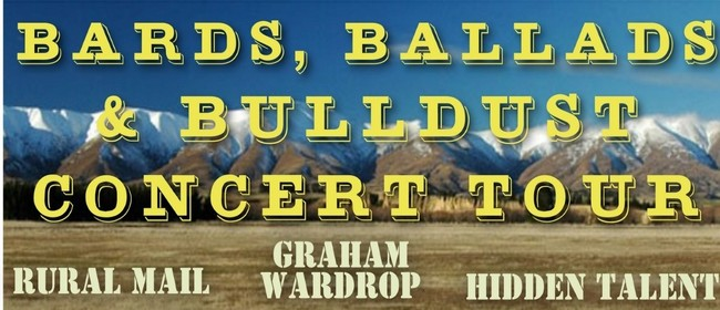 Bards Ballads and Bulldust Concert Tour